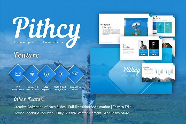 Pitchy Multipurpose Powerpoint Template