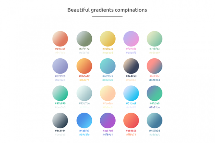 Beautiful gradients!
