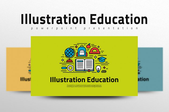 Illustration Education Presentation