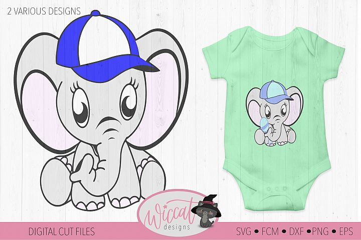 Boy elephant svg, nursery svg, dxf cut file, scanncut