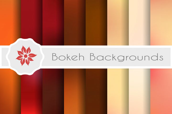 Blurred vector backgrounds