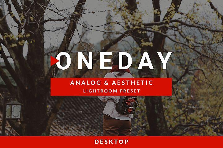Analog & Aesthetic Lightroom preset