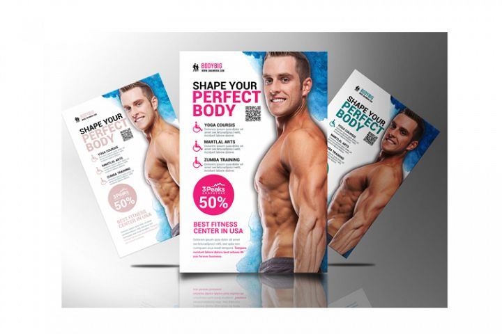 Body Fitness Flyer