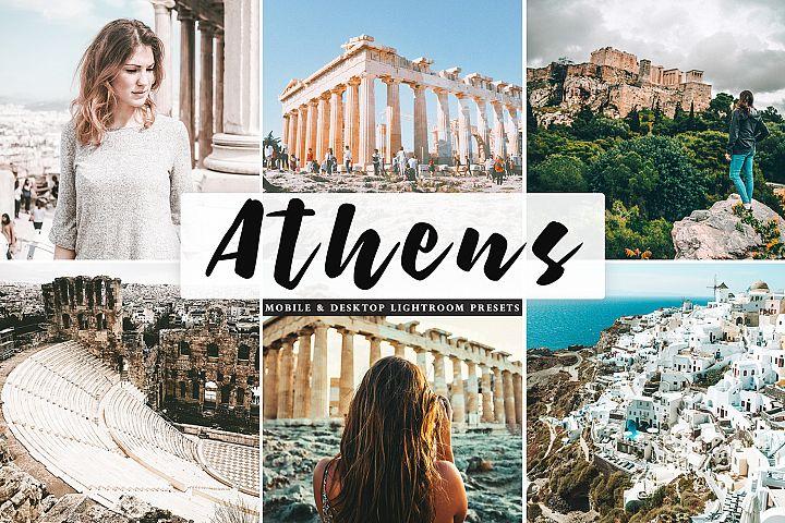Athens Mobile & Desktop Lightroom Presets