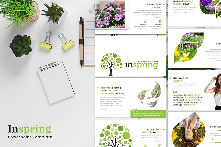 Inspring - Powerpoint Template