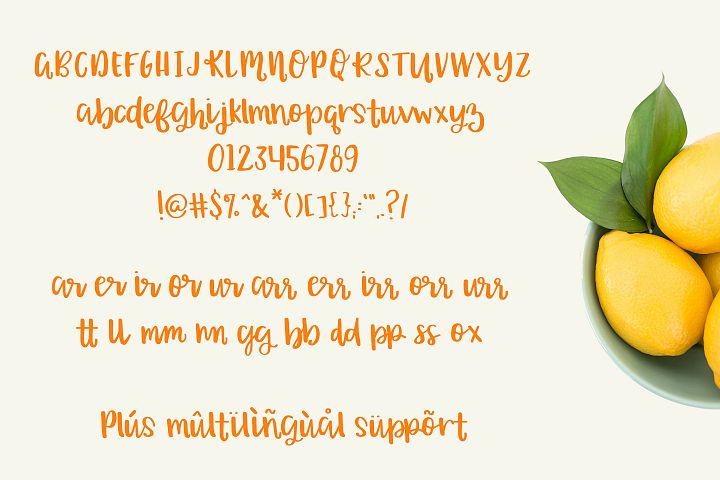 Orange Grove Script - Free Font of The Week Design1