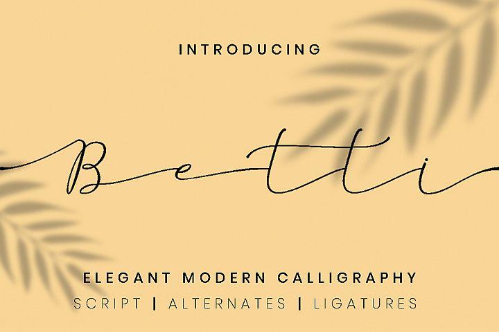 Betti Script