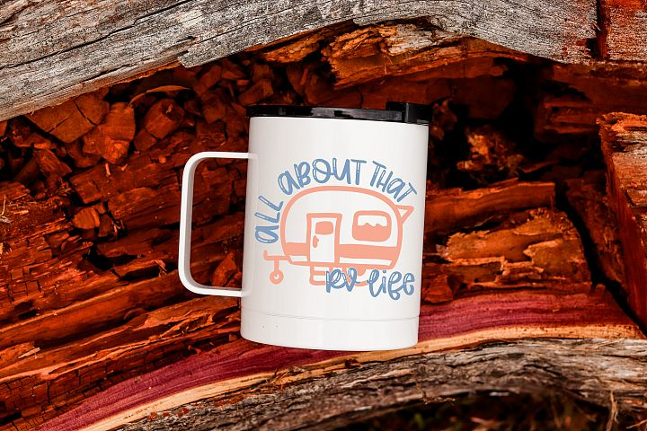 All About That RV Life | Summer | Camping SVG Cut File