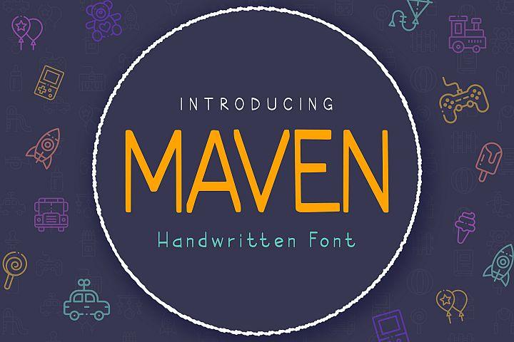 Maven Font