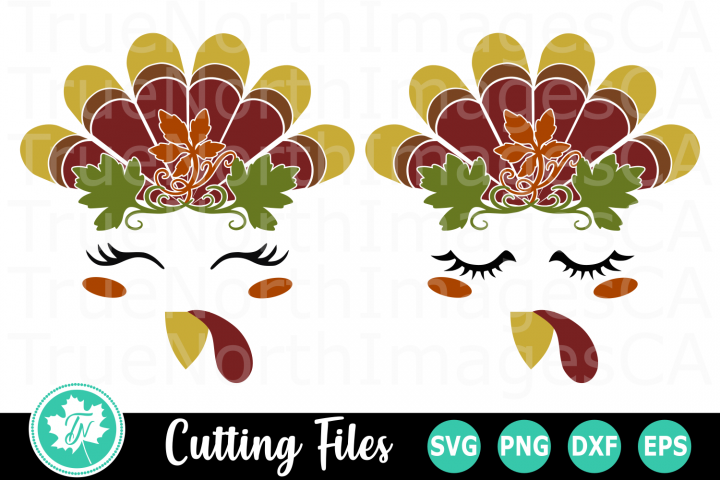 Turkey Head - A Fall SVG Cut File