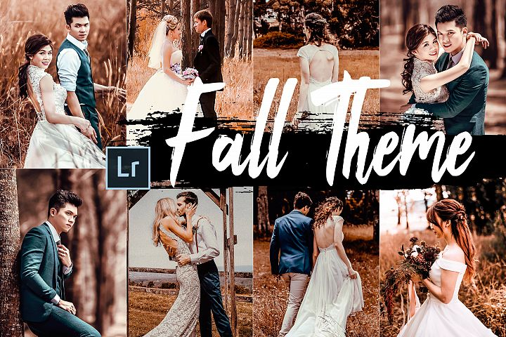 5 Fall Desktop Lightroom Presets and ACR preset