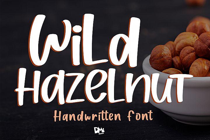 Wild Hazelnut - Handwritten Font