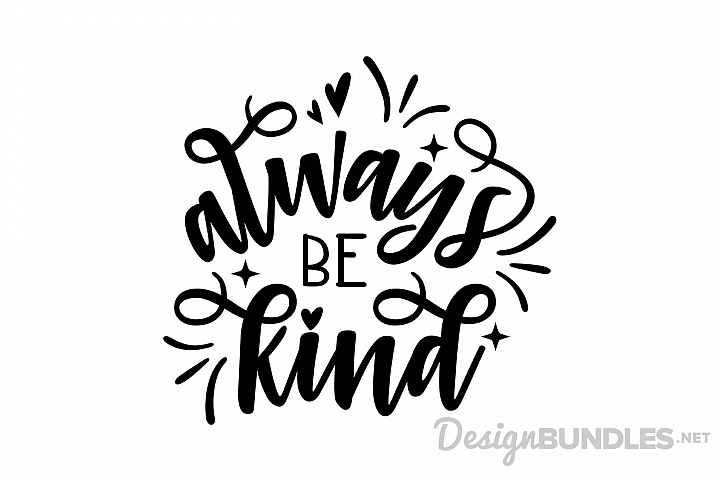 Always Be Kind example 1