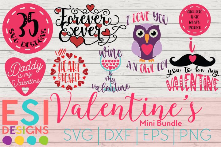 Valentines SVG Bundle | SVG DXF EPS PNG