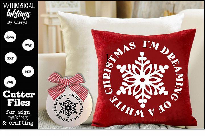 Im Dreaming-Christmas SVG