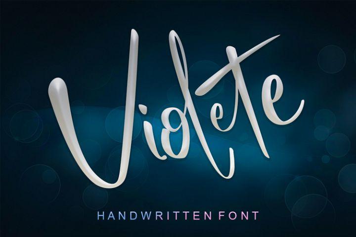 Violete Font