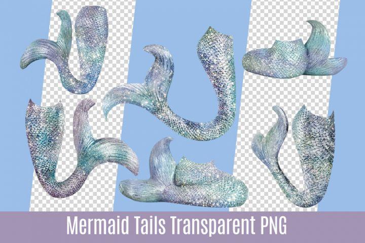Sparkle Mermaid Tail Transparent Cutout PNG