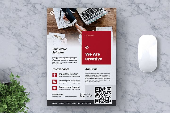 Corporate Business Flyer Vol. 12