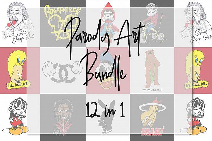 Parody Art 12 in 1 Bundle