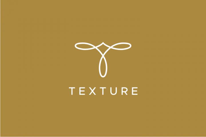 Texture - Letter T Logo