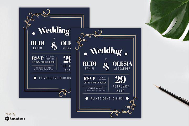 Wedding Invitation vol. 04