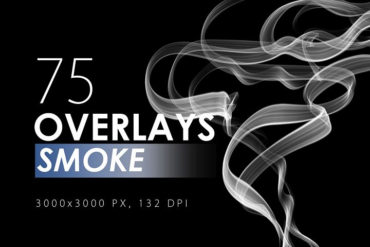 75 Smoke Overlays