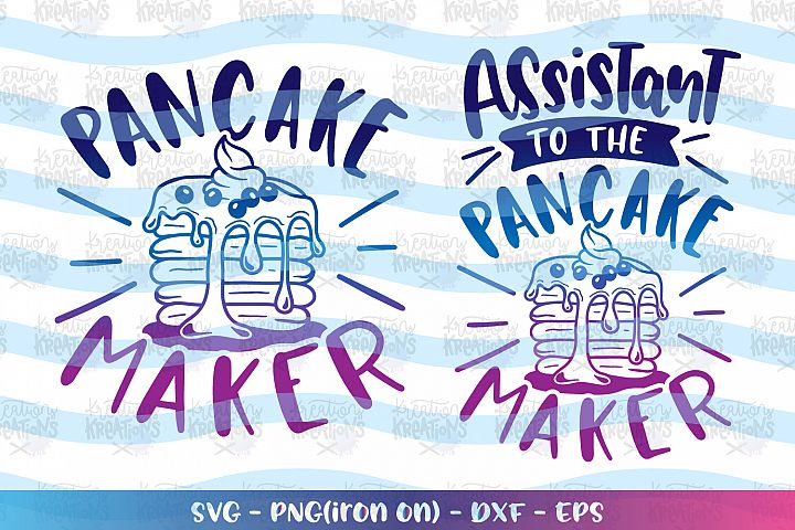 Baking svg Cooking svg Pancake Maker svg Matching shirts