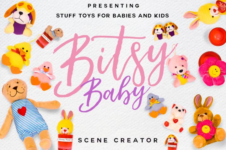 Bitsy Baby Stuff Toys Scene Creator