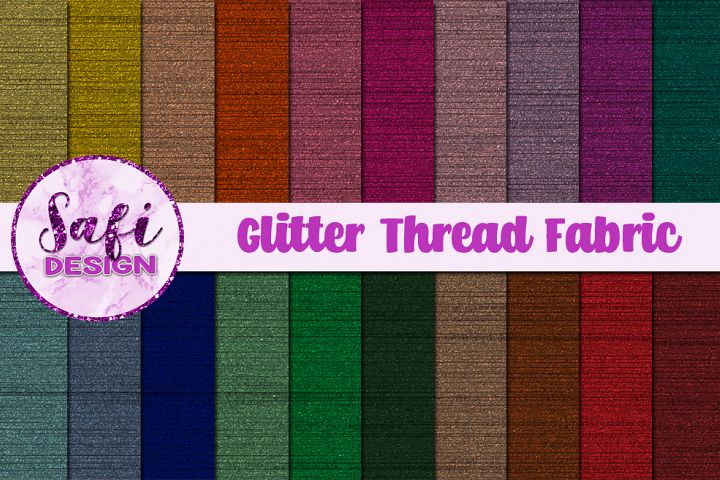 Glitter Thread Fabric Backgrounds