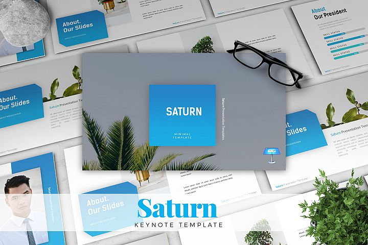 SATURN - Keynote Template