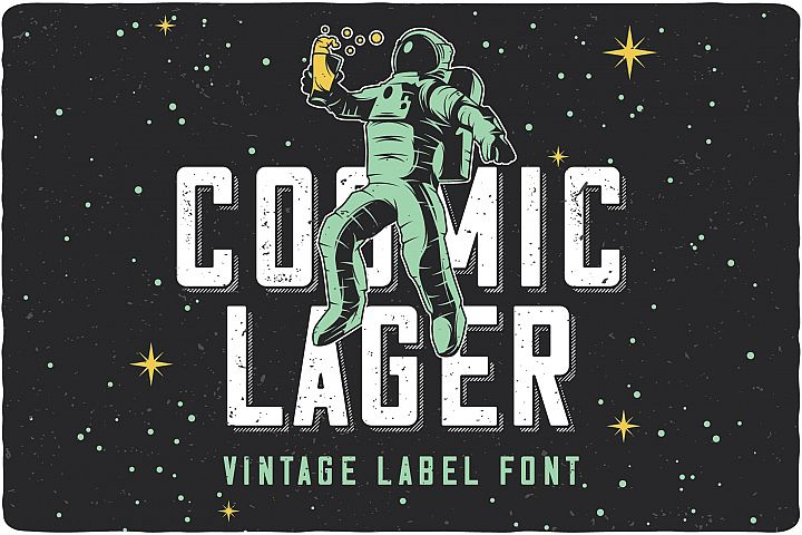Cosmic Lager with bonus