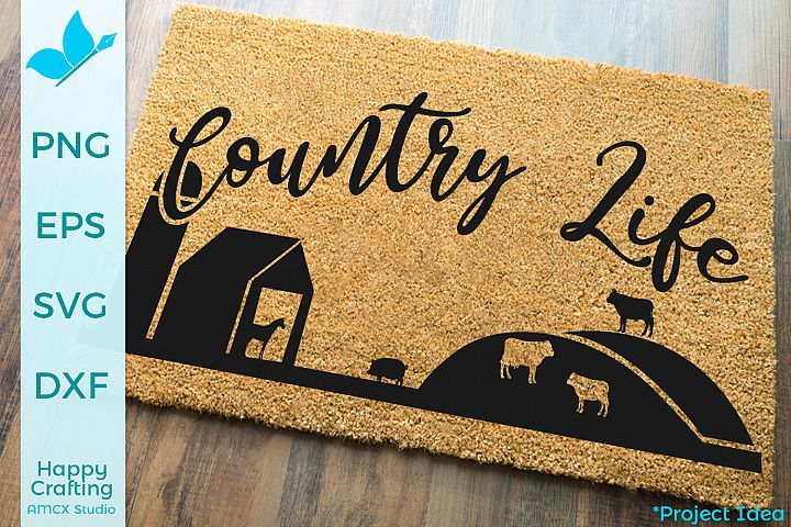 Country Life - A Farm Style Craft File