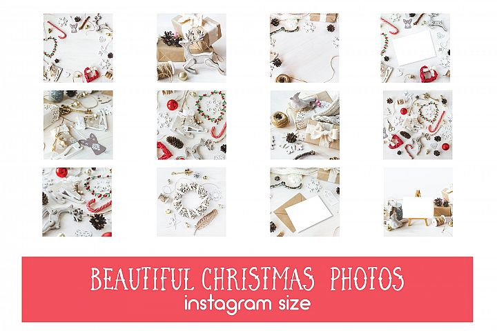 75% OFF 12 Vintagy Christmas Photos