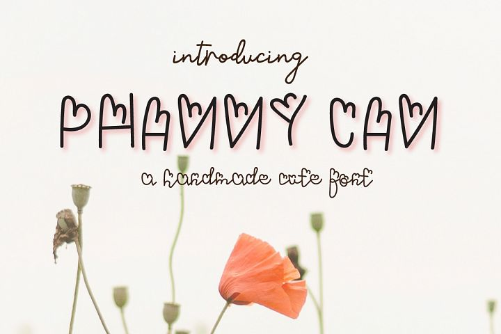 Phanny Can- A cute font