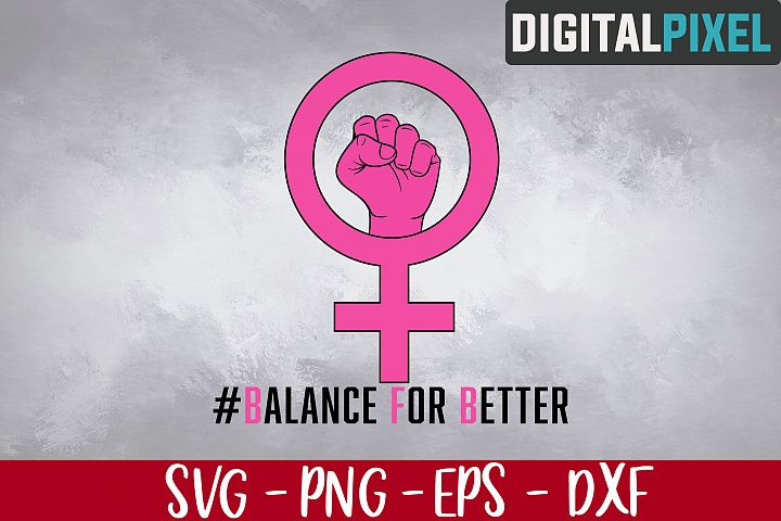 Balance For Better SVG PNG EPS Cricut Silhouette Cameo