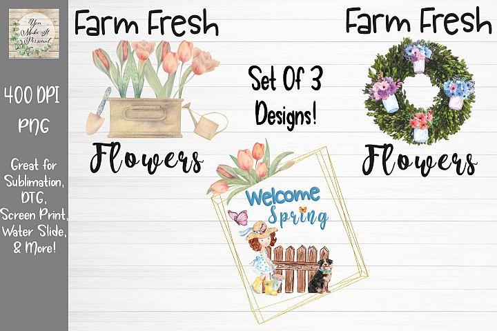 Spring Bundle, Welcome Spring, Farm Fresh Flowers