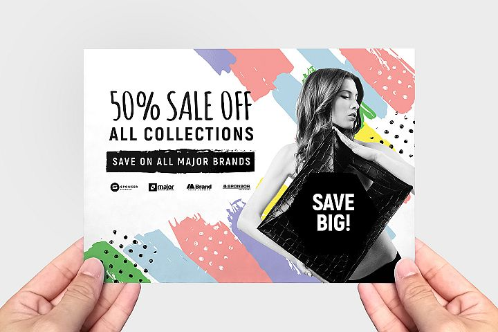 Grand Sale Flyer Templates example image 3