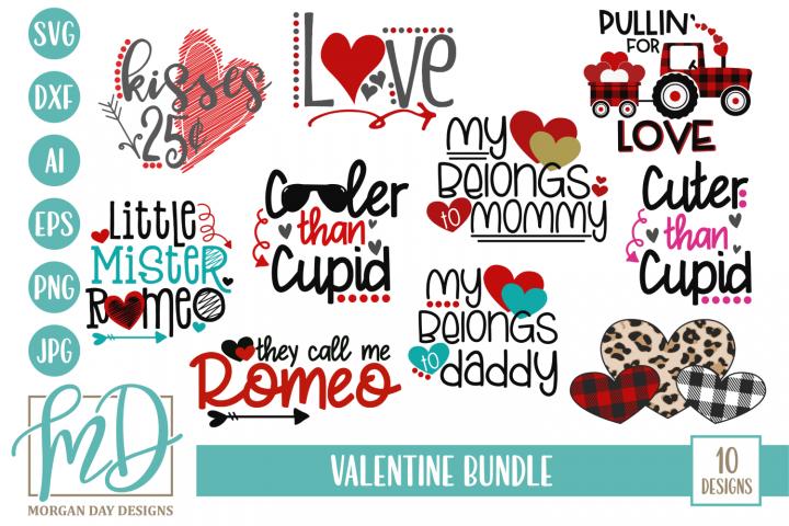 Valentines Day - Cupid - Love - Valentine Bundle SVG