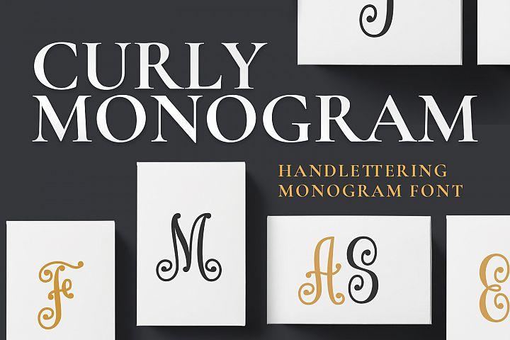 Curly Monogram