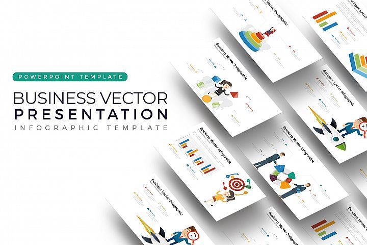 Business Vector Presentation - Infographic Template