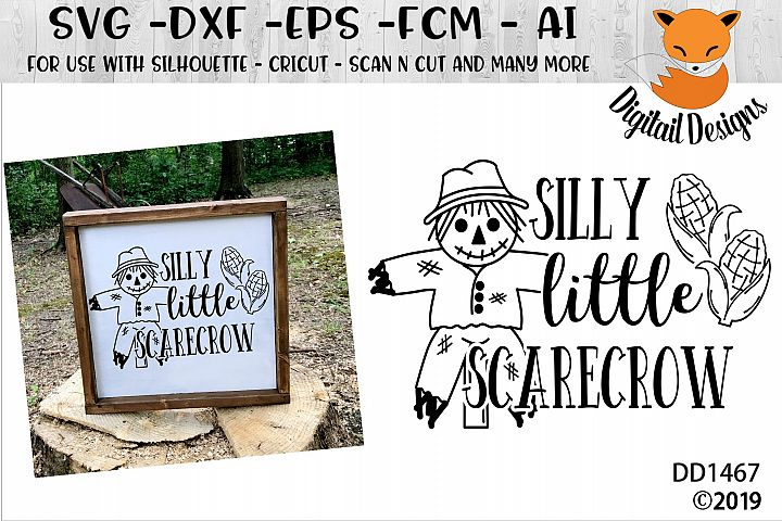 Silly Little Scarecrow SVG