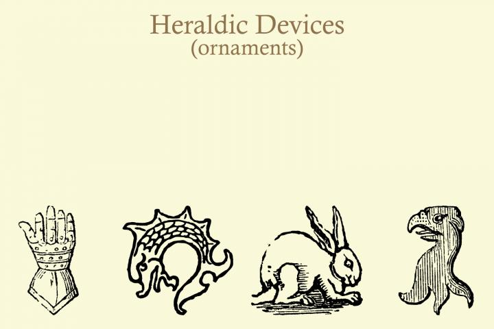 Heraldic Devices Premium (pack)  example image 9