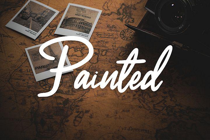 Painted Script