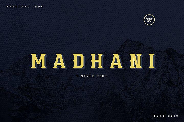 Madhani Font Family