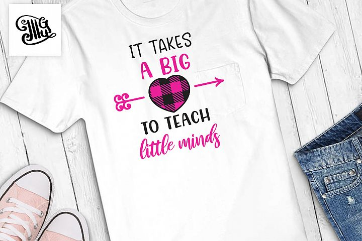 Teacher Valentines day svg