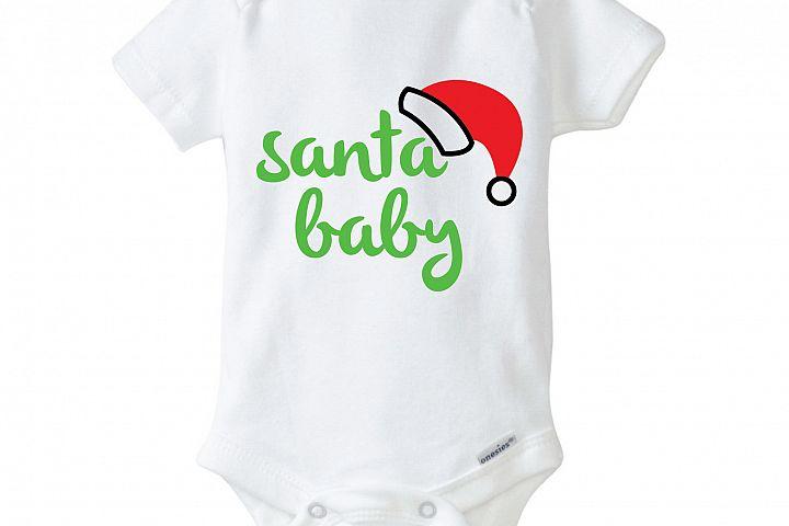 Santa Baby Onesie Design