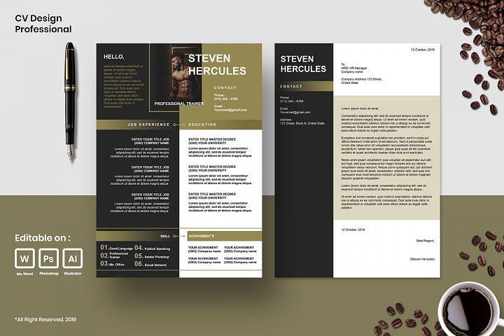 Cv Design Template Professional Vol.7
