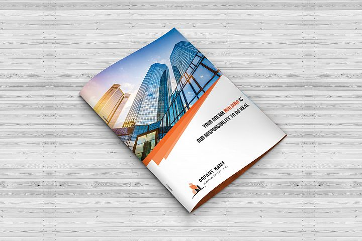 Construction Bi-Fold Brochure