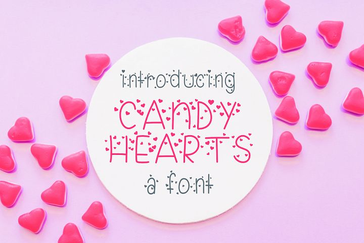 Candy Hearts Valentine Font