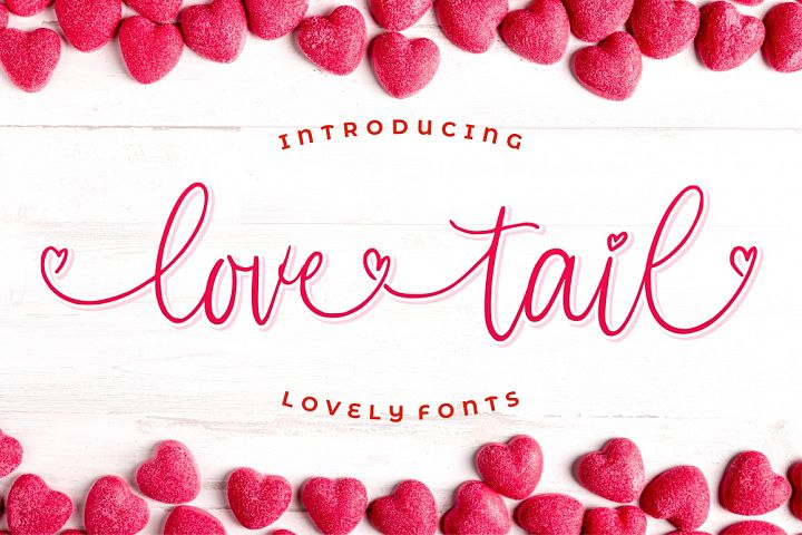 Love Tail | Lovely Font